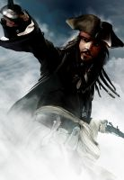 Speed Painting Jack Sparrow by Chibii-Kira