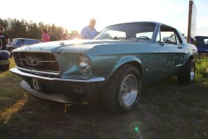 Heavenly Mustang by KyleAndTheClassics
