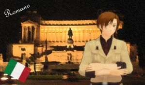 [MMD] APH: Romano by LockdownVII