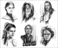 More SW Characters by Callista1981