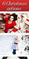 6 Christmas Actions by Anuya