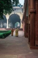 Incredible India - enjoying architecural heritage by Rikitza