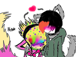 titoxchris  colored sketch by X-RedFox-X