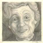 Portrait of the Grandma Type by Dragonblade99