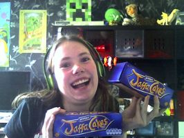 Got myself some Jaffa Cakes!!! by BloodMonster2