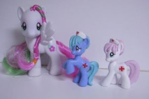 MLP Custom Blind Bag Nurses by colorscapesart