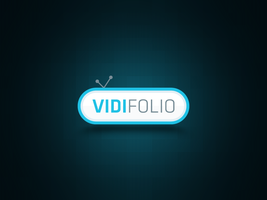 vidifolio Logo Design by waseemarshad
