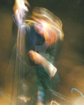 tom waits throws confetti 2001 by perfectlipstick