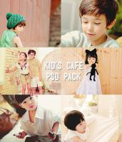 PSD Kid's Cafe Pack by ajikaji