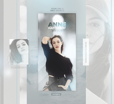 Anne Hathaway by monagory