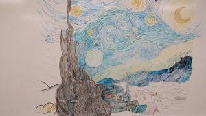 Marker Starry Night by EB-the-GAMER