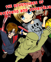 the adventures of stephano and zombitalia (cover) by daisy-mai-5157