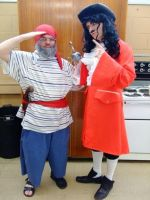 Me As Mister Smee And Aaron As Captain Hook by adamero