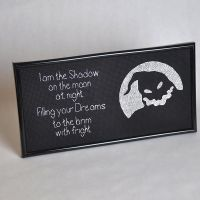 I am the Shadow - Oogie Boogie Cross Stitch by PrincessDitto
