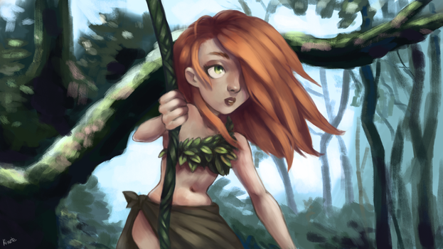 Welcome to the jungle by kinoteart
