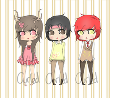 .:Customs:. by curled-mustache
