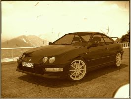 Integra type R sepia by Lorddarthvik