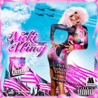 Nicki Minaj Pink Friday Cover by LaxDesign