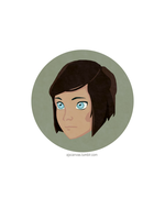 Avatar Avatars: Korra (short hair) by AJsCanvas