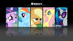 MLP- Brony wallpaper by DragneelGfx