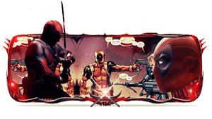 Deadpool Sign by Luciano246BR