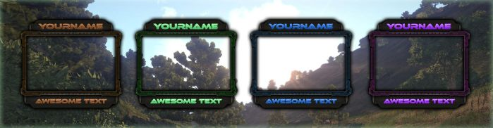 Camframe Bundle for TwitchTV, for Sale! by LoomarNet