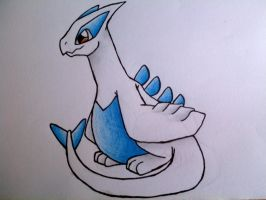 Baby Lugia by LugiaUmbreonPower