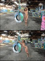 Merrique: The Tire Swing by Saledin
