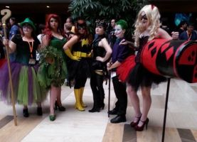 DC Group Pic by CoversAndCosplay