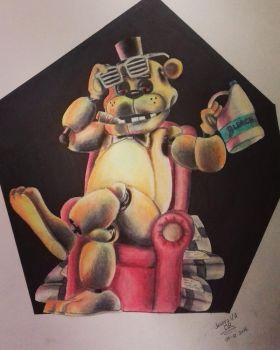 [FNaF] Fucking Golden Freddy by JosefaValdiviaT-Rex