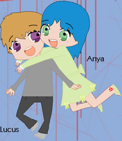 ..Anya and Lucus.. by Ember14