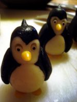 Marzipan Penguins by Sliceofcake