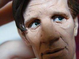 Matt Smith Sculpt 5 by frasierdalek