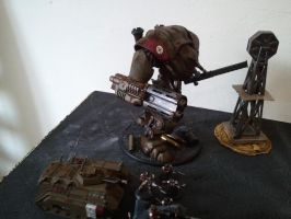 imperial guard astra militarum deployment knight by skincoffin