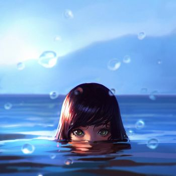 Sea by Kuvshinov-Ilya