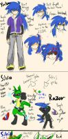 OCs Ref by LucLightning