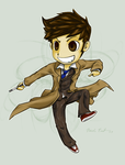 Chibi Doctor Who Stand Alone by ElectricEidolon