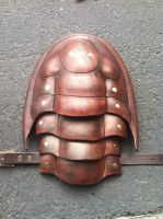 Trilobite pauldron by SavagePunkStudio