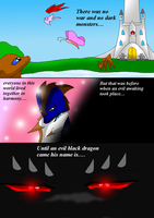 Goddess Light Prolouge pg2 by HeroHeart001