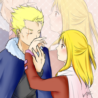 Laxus x Lucy - Request from anony by Kohaya7Kae-13