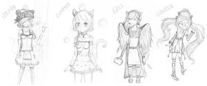 WIP New Adopts are coming somewhat soon q-q by sakuraxls2