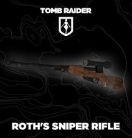 TOMBRAIDER: Roth's sniper rifle by doppelstuff