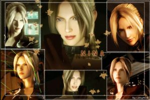 Nina Williams wallpaper by LaDyRvE