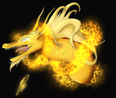 Adopt a Dragon 3: Golden Firedragon (closed) by RosiArts