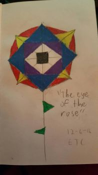 The eye of the rose by DAMAGE175