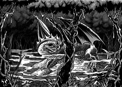 Desolation of the Black Terror Cover by artikid