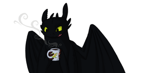 Cup of dragon by tiger-Sanga