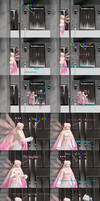 MMD Comic - A haunted hotel ? by JackFrostOverland