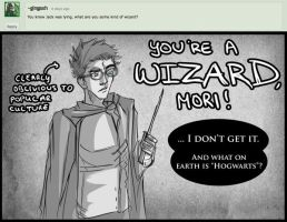 ASK MORI - WIZARD by moritheshifter