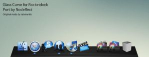 Glass Curve for Rocketdock by nodeffect